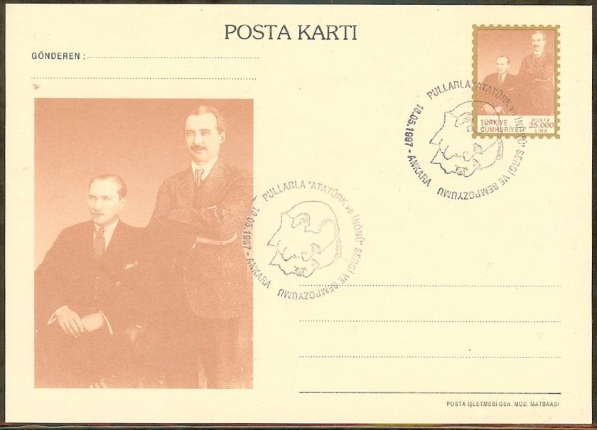 Pullarda Atatürk ve İnönü sergisi antiyesi - 18 Mayıs 1997