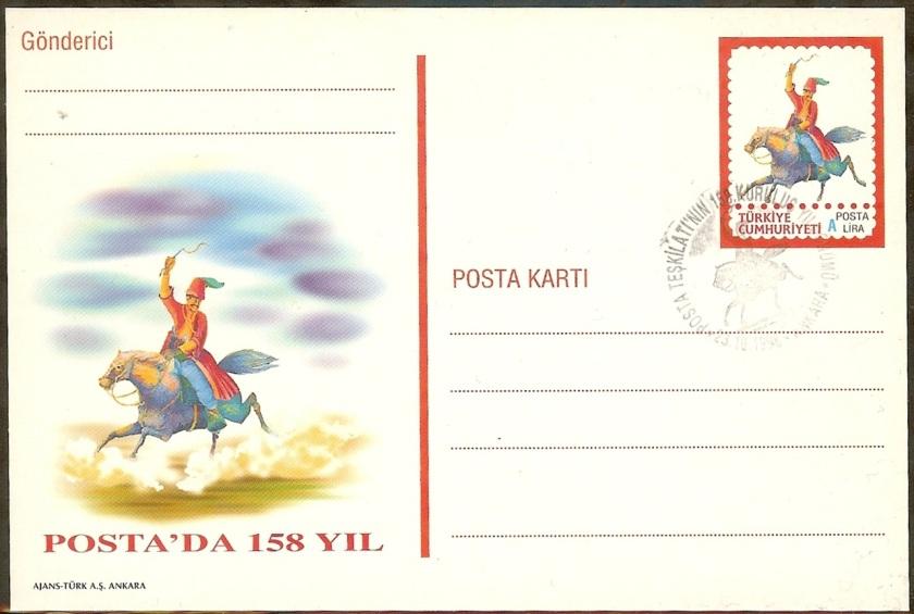 Posta teşkilatının 158. yılı - 23 Ekim 1998