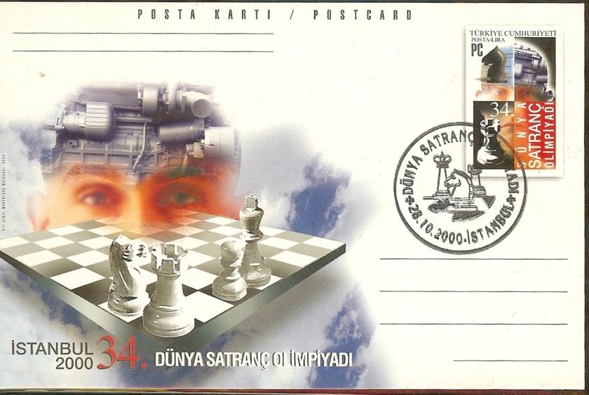 34. Dünya satranç olimpiyadı antiyesi - 28 Ekim 2000