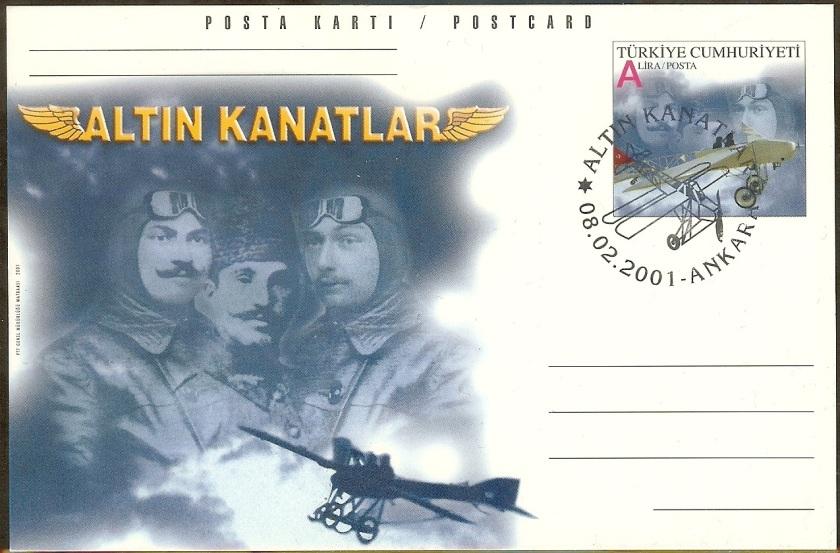 Altın kanatlar antiyesi - 08 Şubat 2001