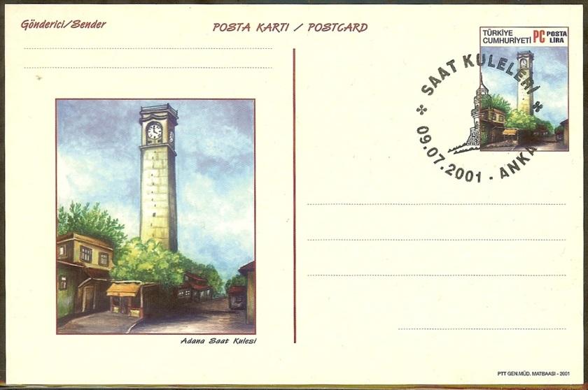 Saat Kuleleri 2. Grup antiyeler - 09 Temmuz 2001