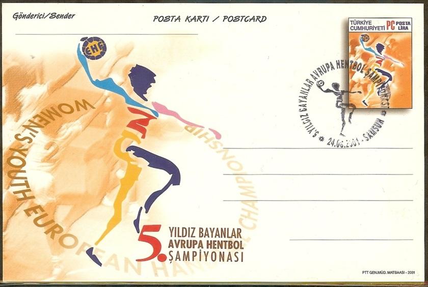 5. Yıldız Avrupa hentbol şampiyonası antiyesi - 24 Ağustos 2001