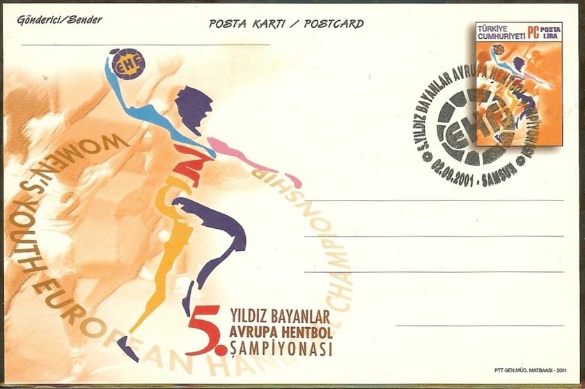 5. Yıldız Avrupa hentbol şampiyonası antiyesi - 2 Eylül 2001