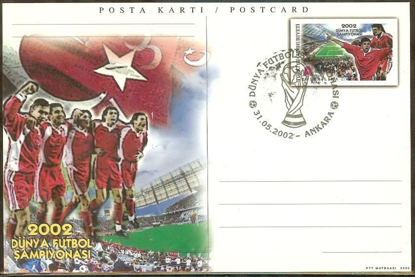 Dünya futbol şampiyonası antiyeleri - 31 Mayıs 2002