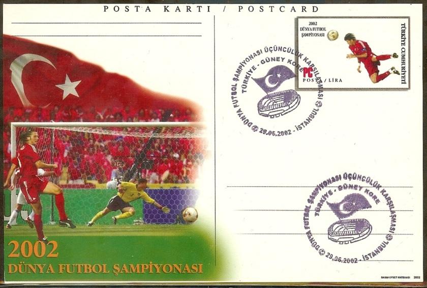 Dünya futbol şampiyonası üçüncülüğü - 29 Haziran 2002