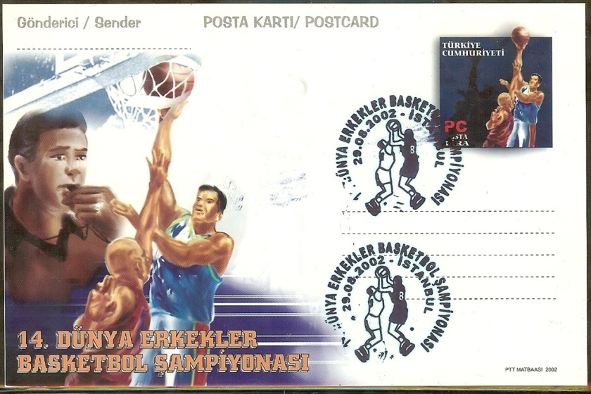 14. Dünya Basketbol şampiyonası antiyesi - 29 Ağustos 2002