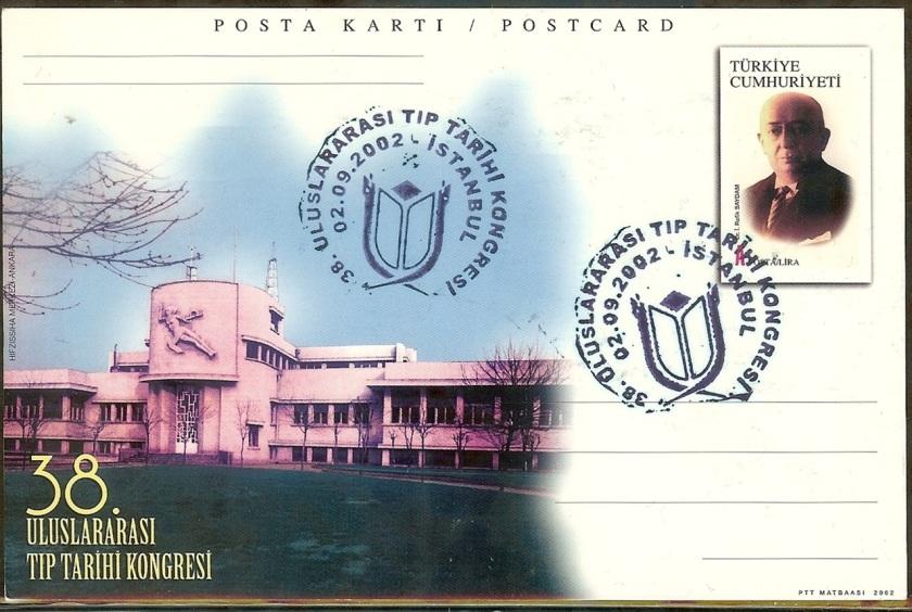 38. Uluslararası Tıp tarihi kongresi antiyeleri - 2 Eylül 2002