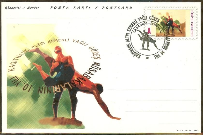 Kağıthane yağlı güreş 10. yılı antiyesi - 8 Haziran 2003