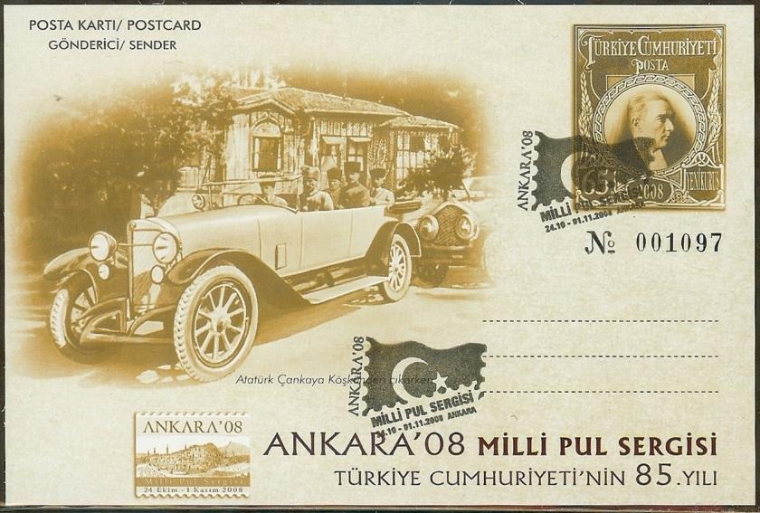 Ankara milli pul sergisi antiyeleri - 24 Kasım 2008