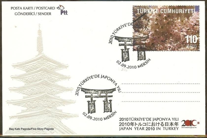 Türkiyede Japonya yılı antiyeleri - 2 Eylül 2010
