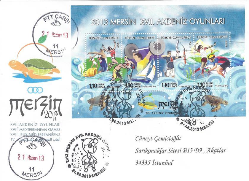 Akdeniz Oyunları Judo damgası Mersin