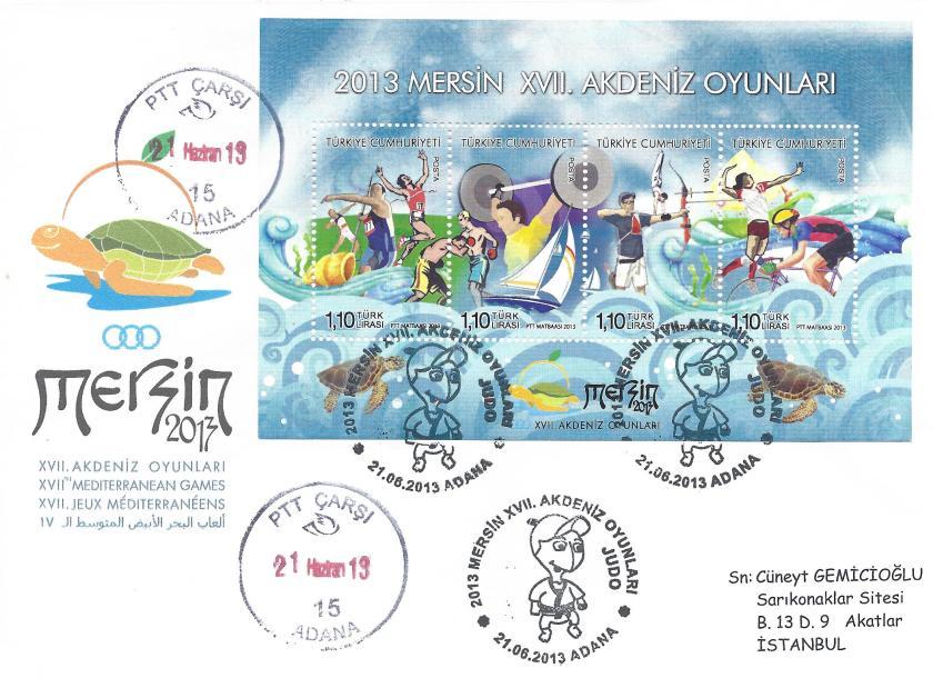 Akdeniz Oyunları Judo damgası Adana