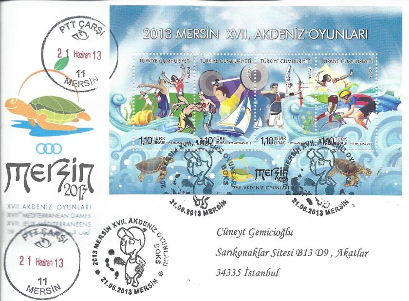 Akdeniz Oyunları Boks damgası Mersin