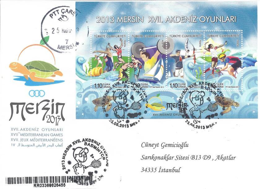 Akdeniz Oyunları Badminton damgası Mersin