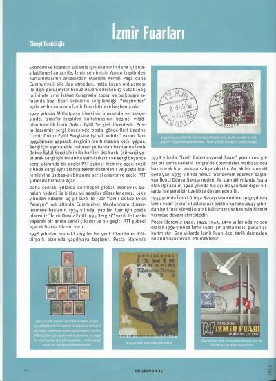 Collection dergisi Sayı 46 İzmir fuarı yazısı