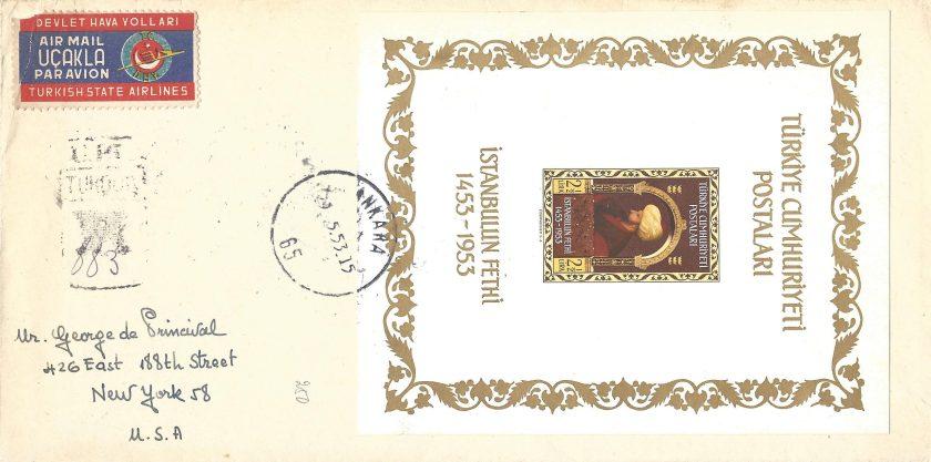 Fatih blok ilk gün zarfı