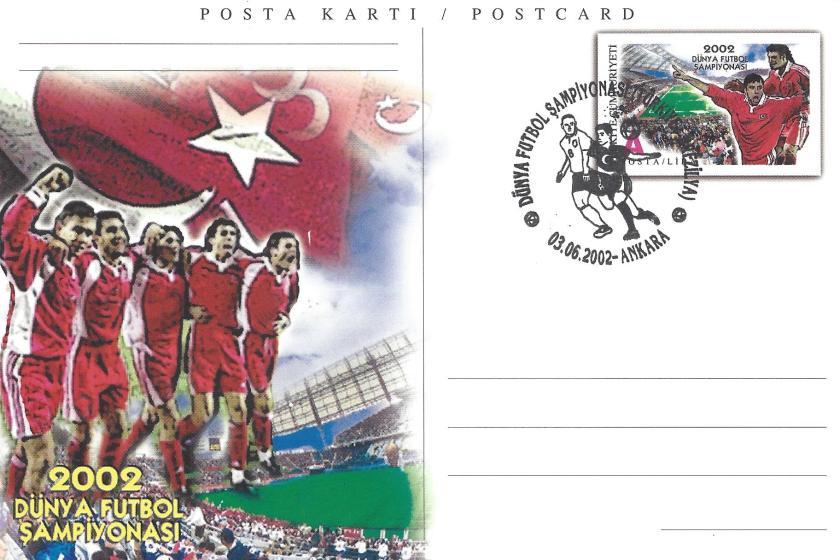 2002 Dünya Futbol Şampiyonası Türkiye -Brezilya - Ankara 03.06.2002