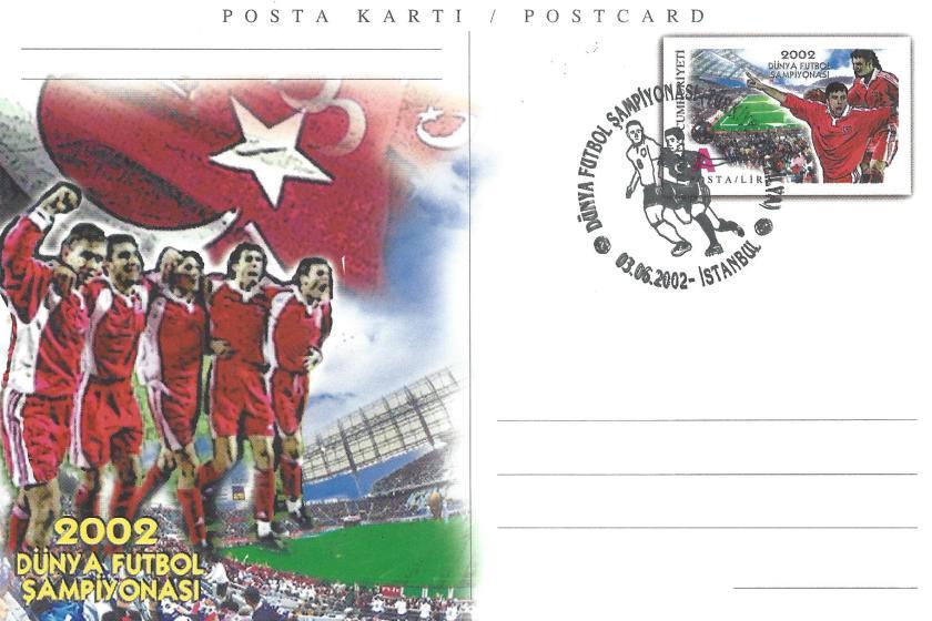 2002 Dünya Futbol Şampiyonası Türkiye -Brezilya - İstanbul 03.06.2002