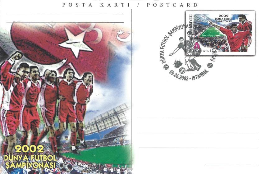 2002 Dünya Futbol Şampiyonası Türkiye -Kosta Rika - İstanbul 09.06.2002