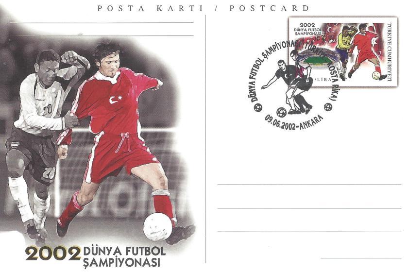 2002 Dünya Futbol Şampiyonası Türkiye -Kosta Rika - Ankara 09.06.2002