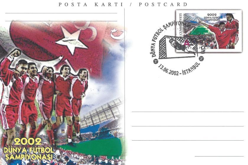 2002 Dünya Futbol Şampiyonası Türkiye -Çin - İstanbul 13.06.2002