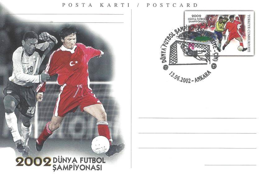 2002 Dünya Futbol Şampiyonası Türkiye -Çin - Ankara 13.06.2002