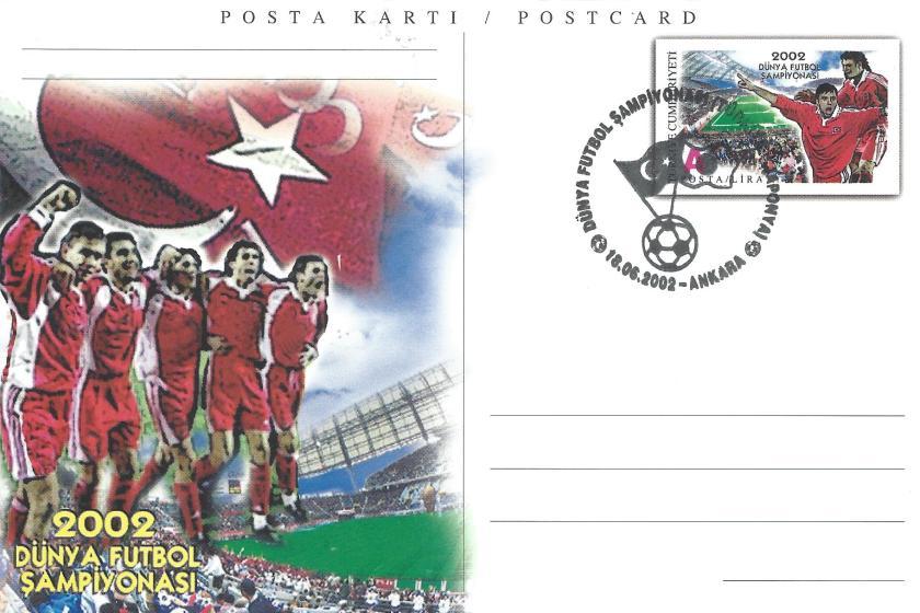 2002 Dünya Futbol Şampiyonası Türkiye -Japonya - Ankara 18.06.2002