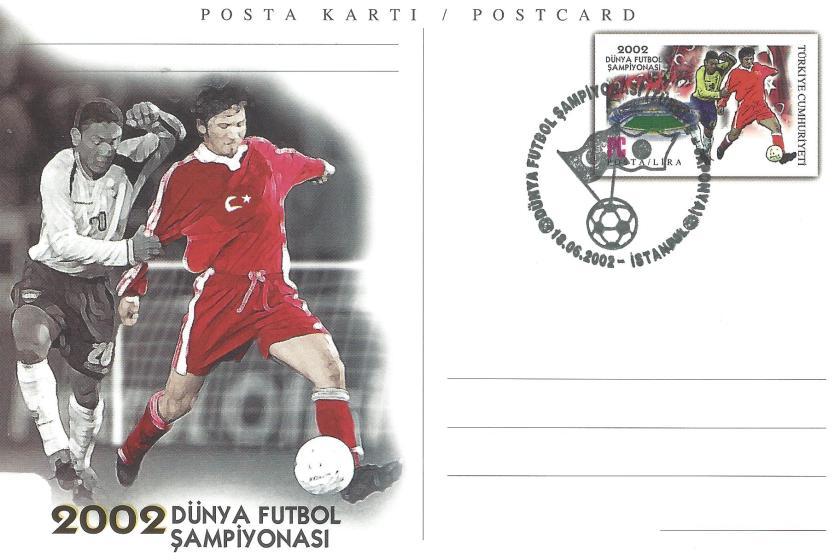 2002 Dünya Futbol Şampiyonası Türkiye -Japonya - İstanbul 18.06.2002