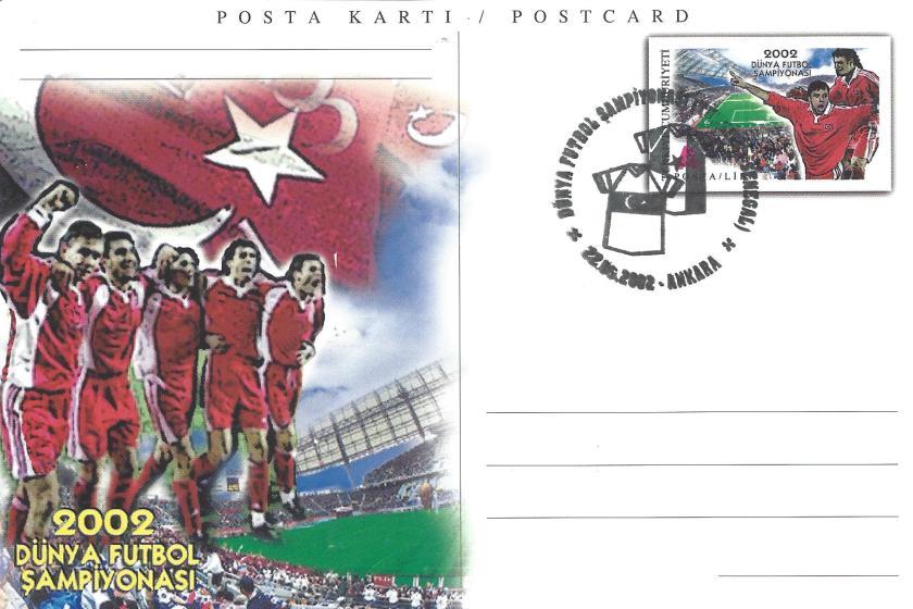 2002 Dünya Futbol Şampiyonası Türkiye -Senegal - Ankara 22.06.2002