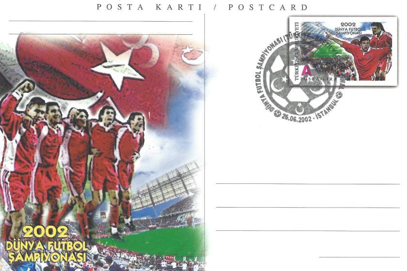 2002 Dünya Futbol Şampiyonası Türkiye -Brezilya - İstanbul 26.06.2002