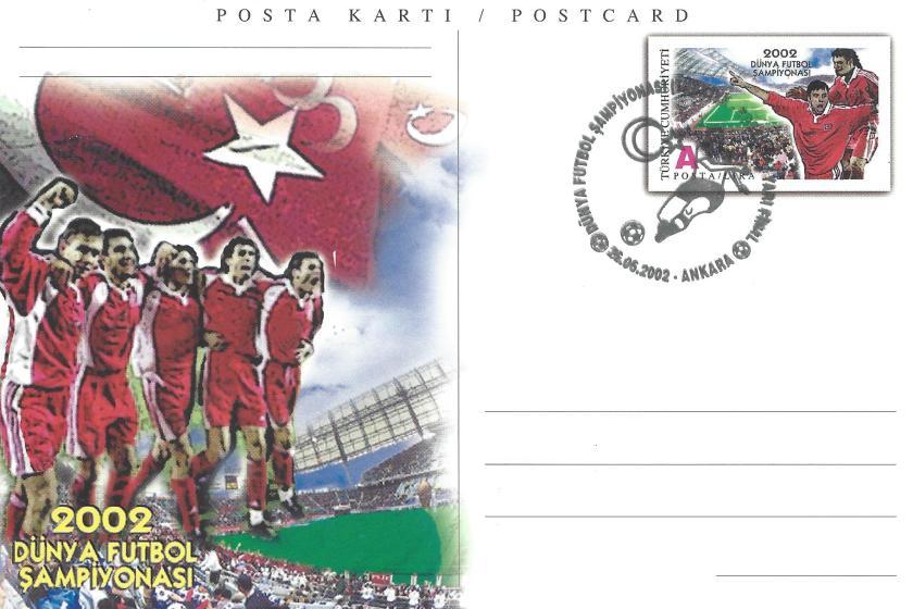 2002 Dünya Futbol Şampiyonası Türkiye - Brezilya - Ankara 26.06.2002