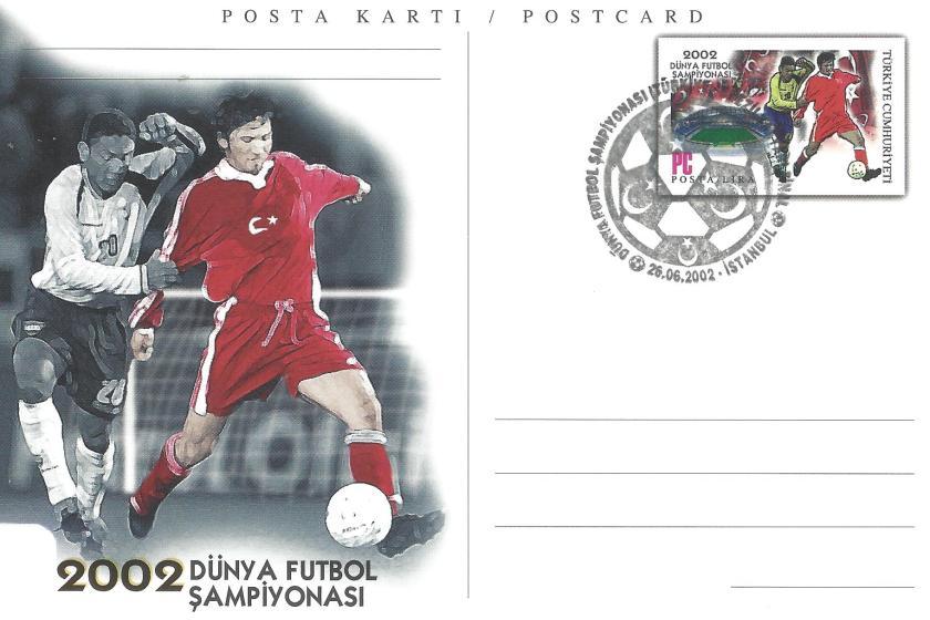 2002 Dünya Futbol Şampiyonası Türkiye - Brezilya - İstanbul 26.06.2002