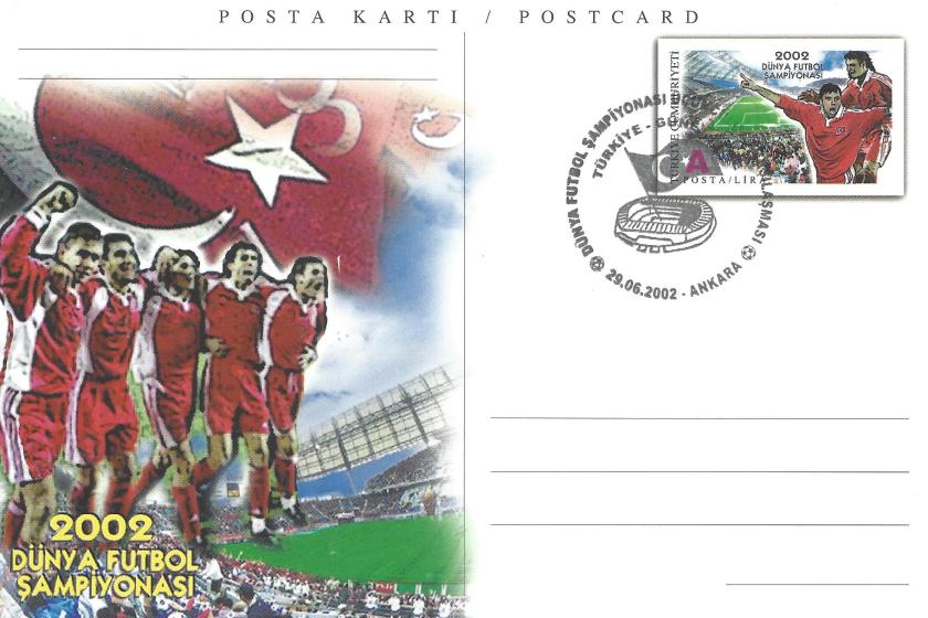 2002 Dünya Futbol Şampiyonası Türkiye - Güney Kore - Ankara 29.06.2002