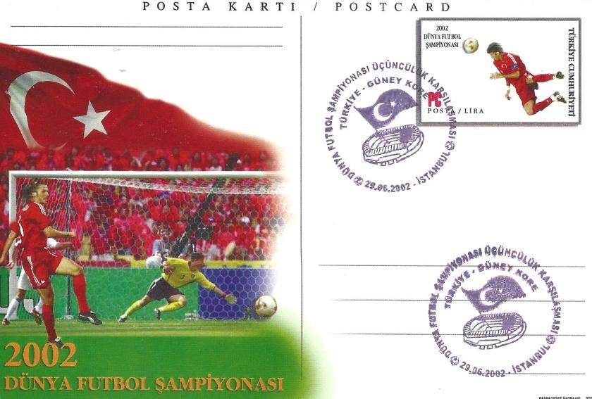 2002 Dünya Futbol Şampiyonası Türkiye - Güney Kore - İstanbul 29.06.2002