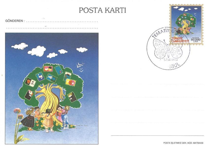 İstanbul '96 sergisi tematik günü damgası