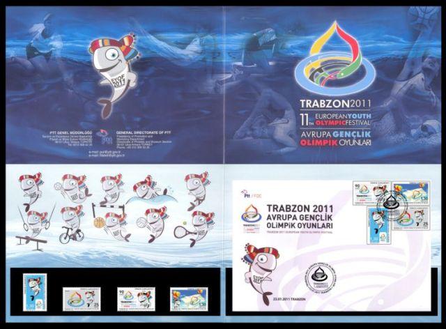 Trabzon gençlik oyunları pul portföyü