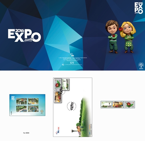 Expo 2016 Antalya pul portföyü