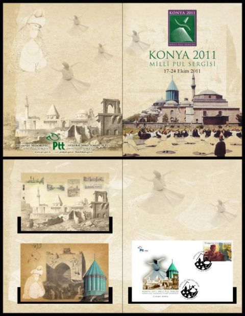 Konya milli pul sergisi portföyü