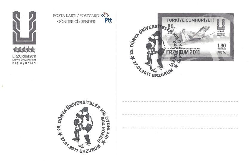 2011 Erzurum oyunları buz hokeyi damgası