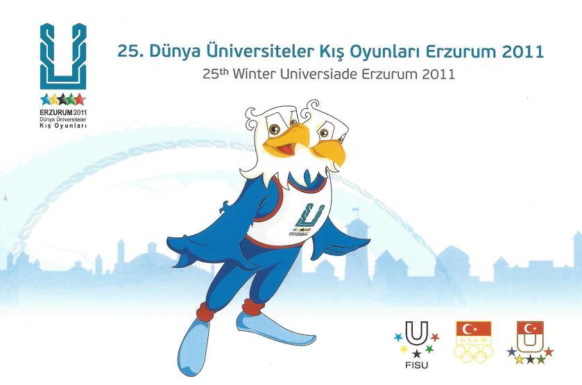 2011 Erzurum Dünya Üniversiteler Kış Oyunları Antiyeleri
