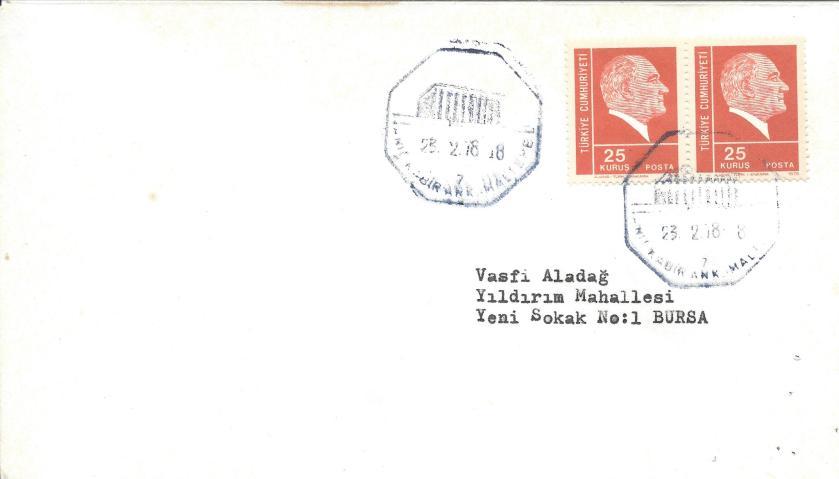 Anıtkabir - Maltepe turistik damga - 1978