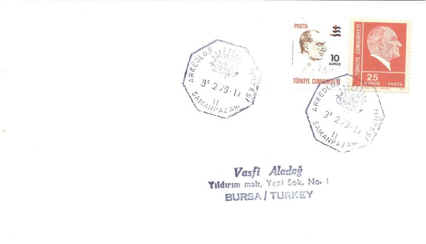 Samanpazarı arkeoloji müzesi - 1979