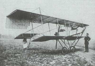 1912 Hava postası taşıyan uçak
